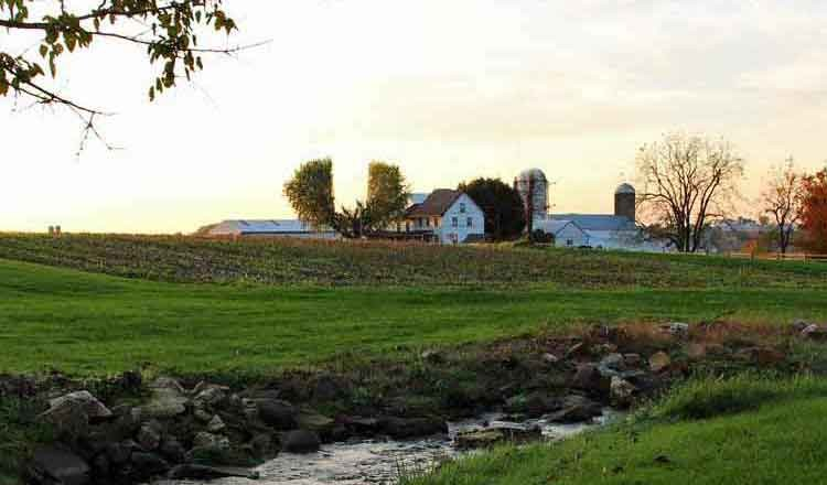 Mennonite other farm lodging lancaster farm bed for Stone acre