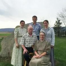Esther, Ed & family