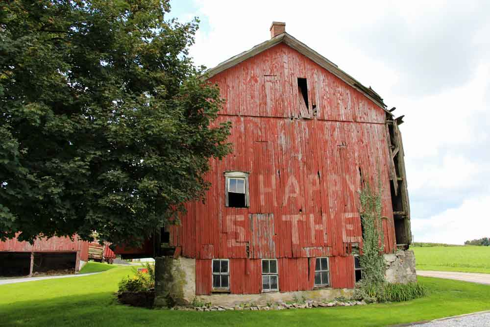 Stay on a farm in Lancaster County PA